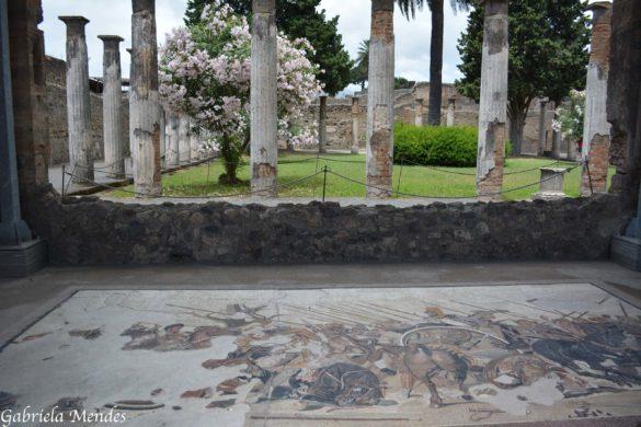 Pompéia, ruínas de uma cidade devastada pela fúria do Vesúvio