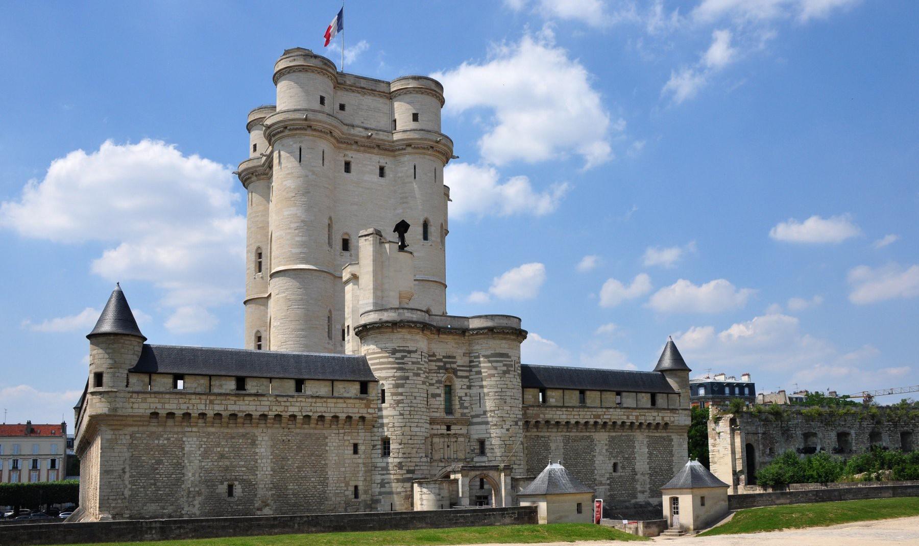 O Château de Vincennes possui uma das fortalezas mais altas de toda a Europa. Foto: fr.wikipedia.org/