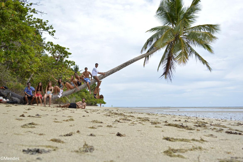 O paraíso fica em Moreré, a vila de pescadores da Ilha de Boipeba, na Bahia