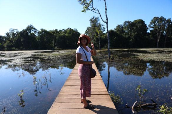 Guia da Zona Arqueológica de Angkor, em Siem Reap, Camboja