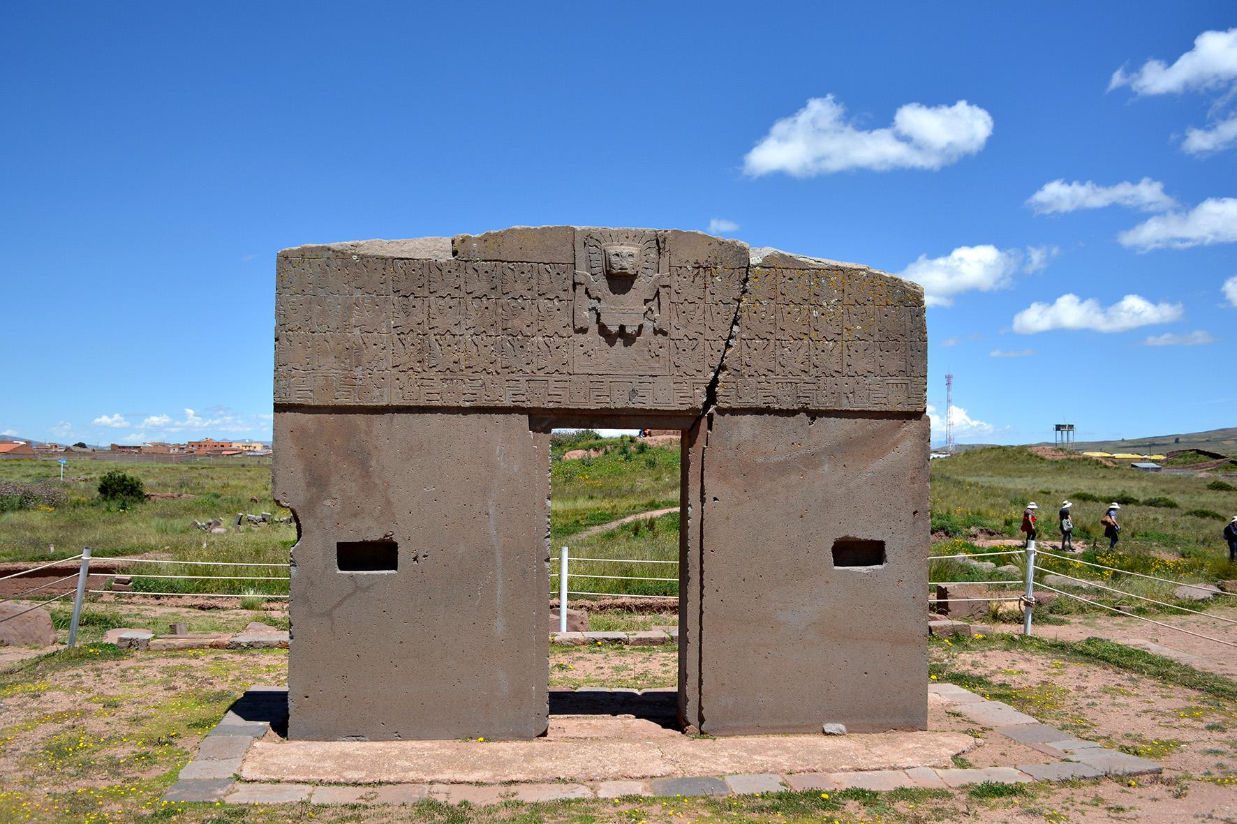 Templo do Sol - Tiwanaku