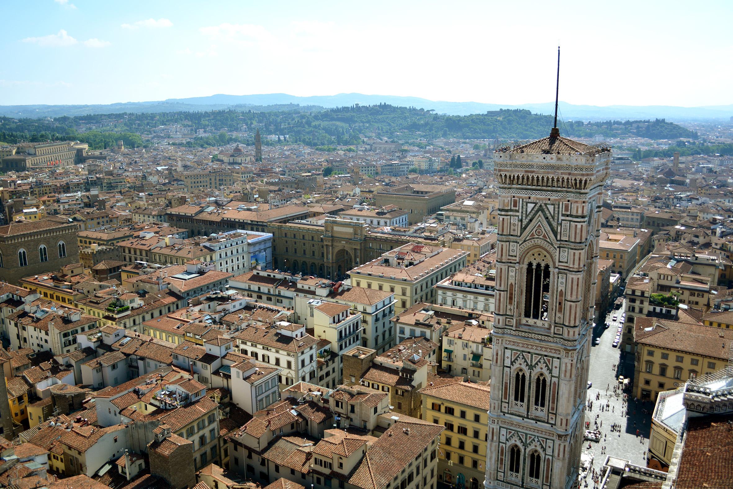 Vista Duomo Florença