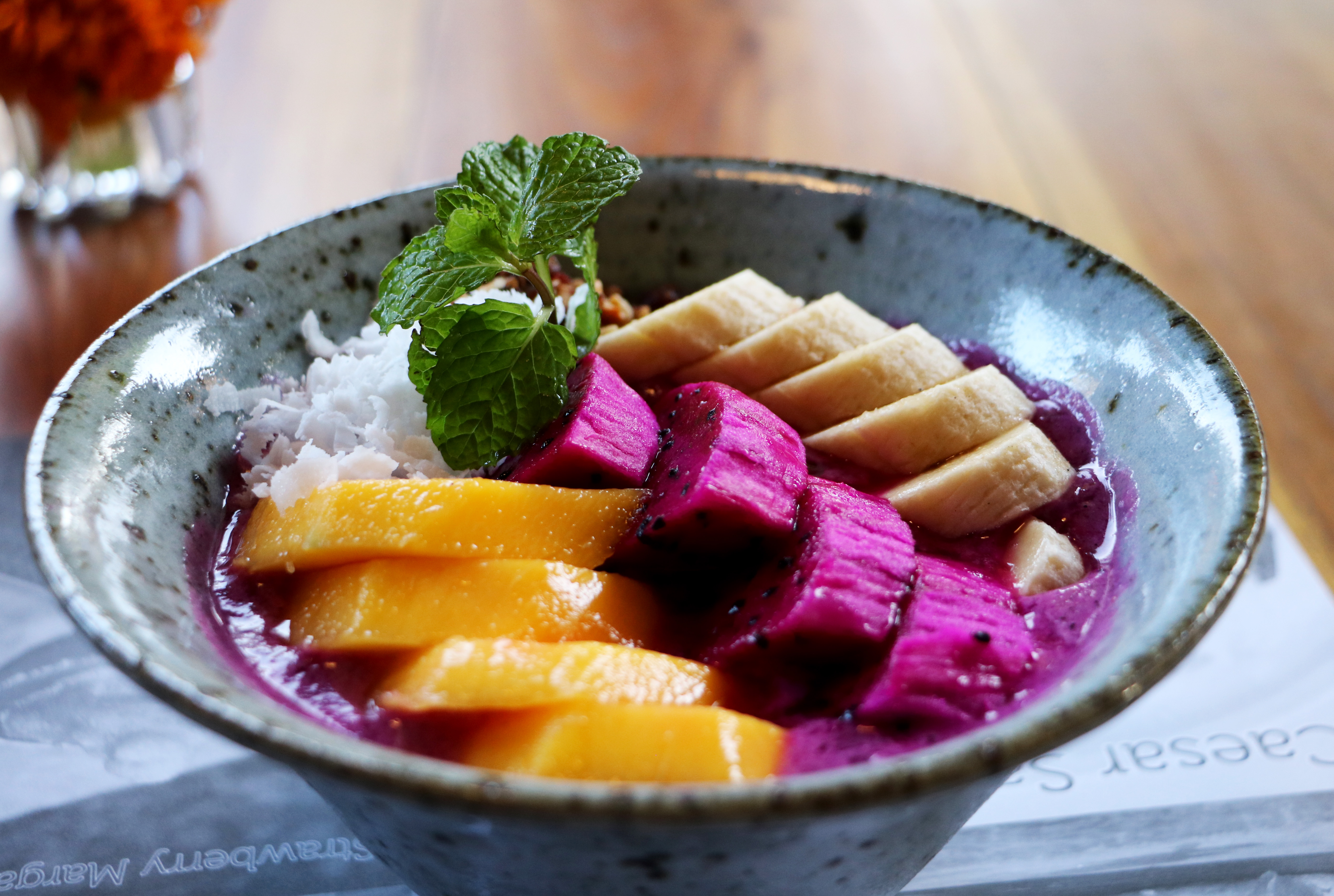 Natural food, bowl, Ubud, Bali