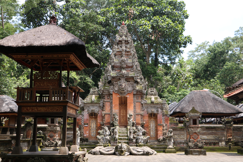 Bali arquitetura ubud
