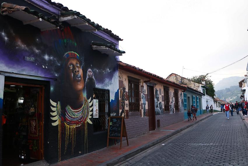 Grafitti Bogotá