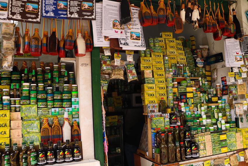 Produtos de coca, Bogotá