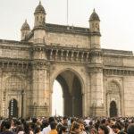 India Gate e sua multidão diária