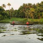 Backwaters de Kerala: os canais de Alleppey