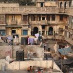 Dentro de um dos prédios do Spice Market, em Old Delhi